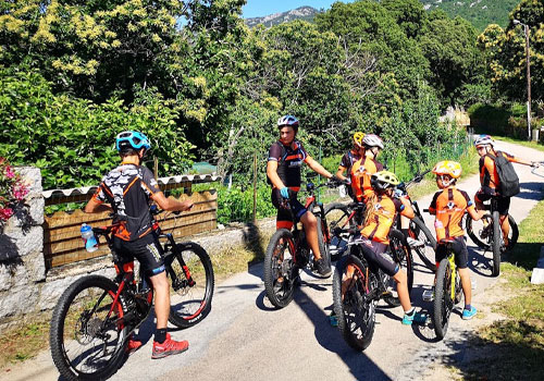 Moniteur vélo Porto Vecchio Corse